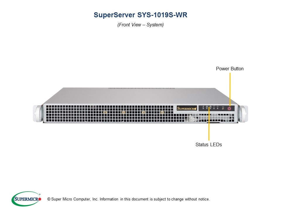 SuperServer-1019S-WR second image