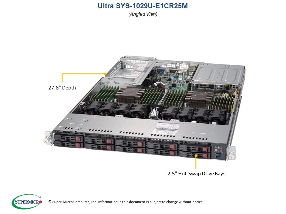 SuperServer-1029U-E1CR25M