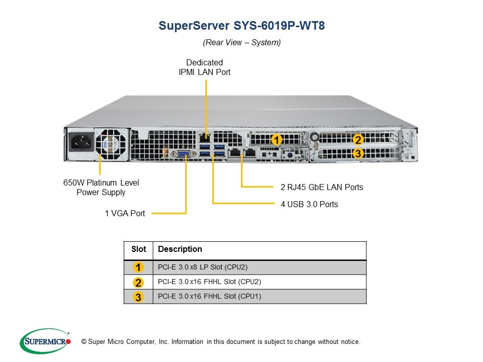 SuperServer-6019P-WT8 fourth image