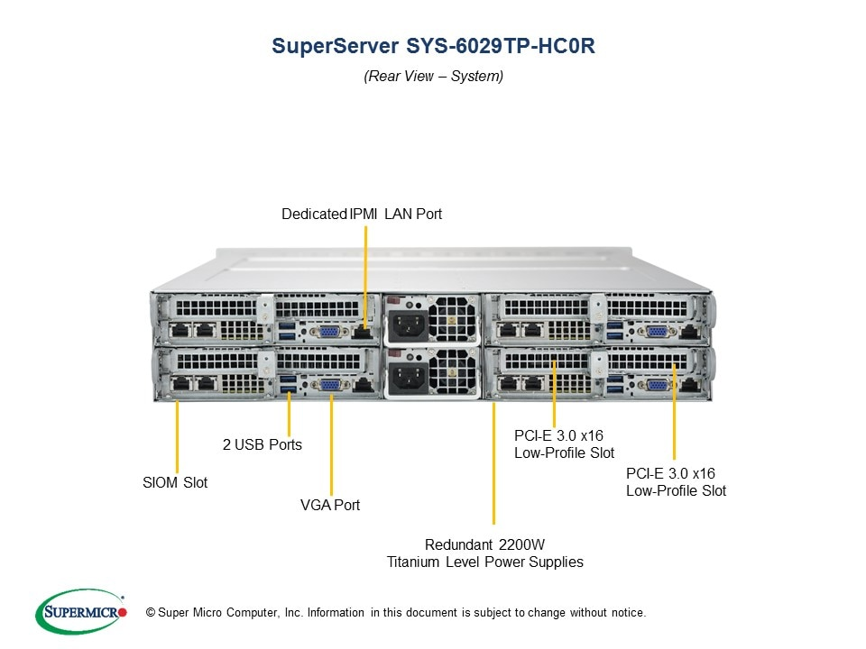 SuperServer-6029TP-HC0R fourth image