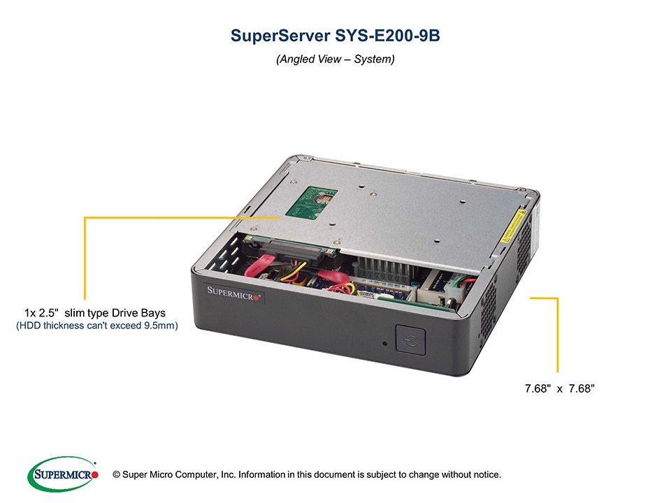 SuperServer-E200-9B main image