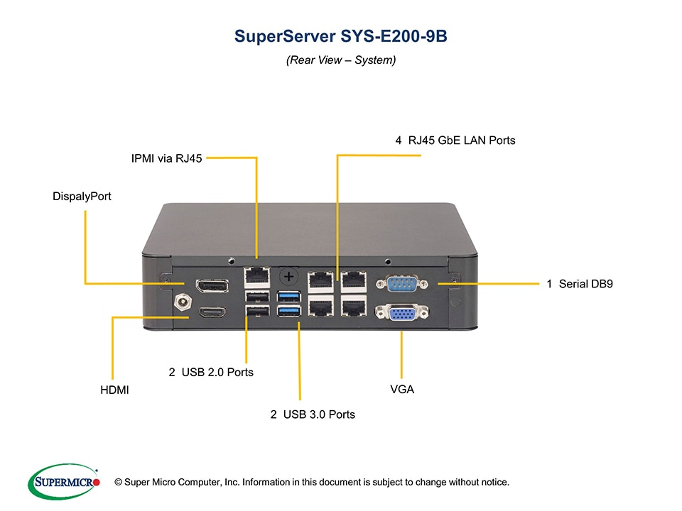 SuperServer-E200-9B fourth image