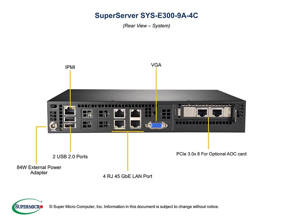 SuperServer-E300-9A-4C fourth image