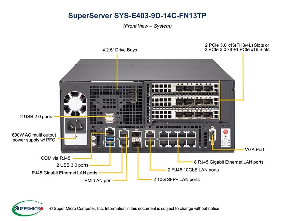 SuperServer-E403-9D-14C-FN13TP second image