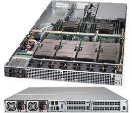 1029GQ-TVRT (4 NVIDIA® Tesla® V100 and 300GB/s GPU-to-GPU NVIDIA® NVLINK™)