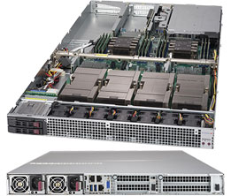 1029GQ-TXRT (4 Nvidia® Tesla® P100 GPUs and NVIDIA® NVLINK™ up to 80GB/s)