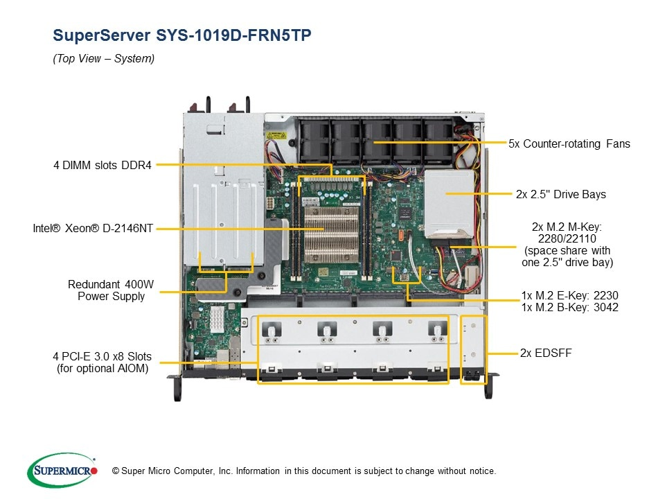 SuperServer-1019D-FRN5TP fourth image