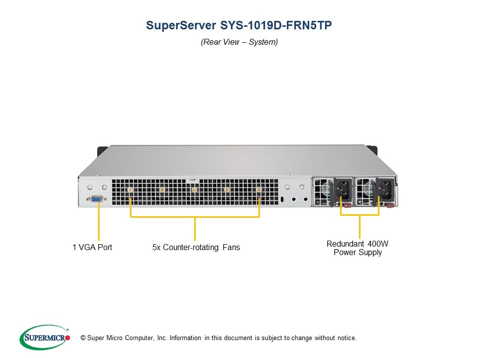 SuperServer-1019D-FRN5TP third image