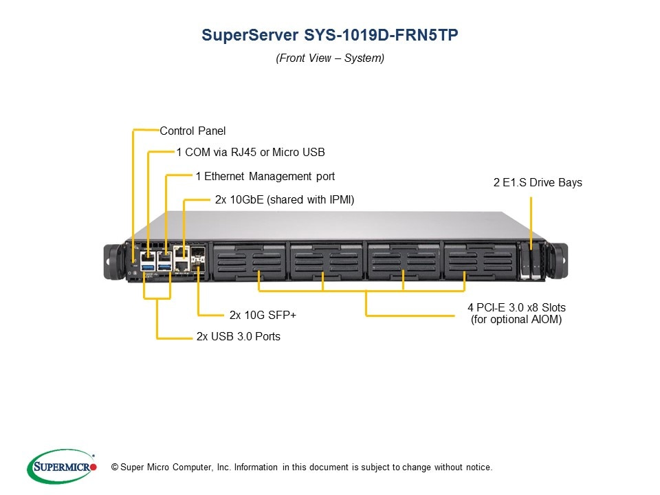 SuperServer-1019D-FRN5TP second image