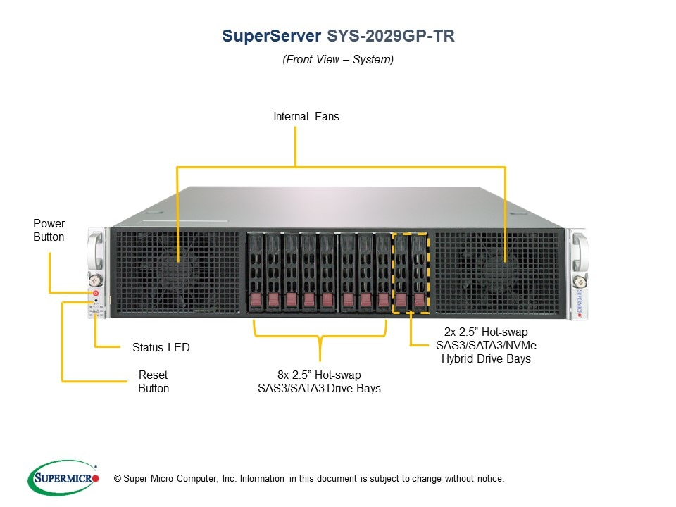 SuperServer-2029GP-TR second image