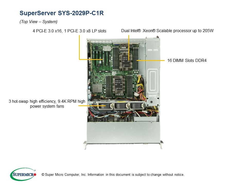 SuperServer-2029P-C1R fourth image