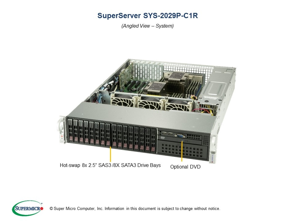 SuperServer-2029P-C1R main image