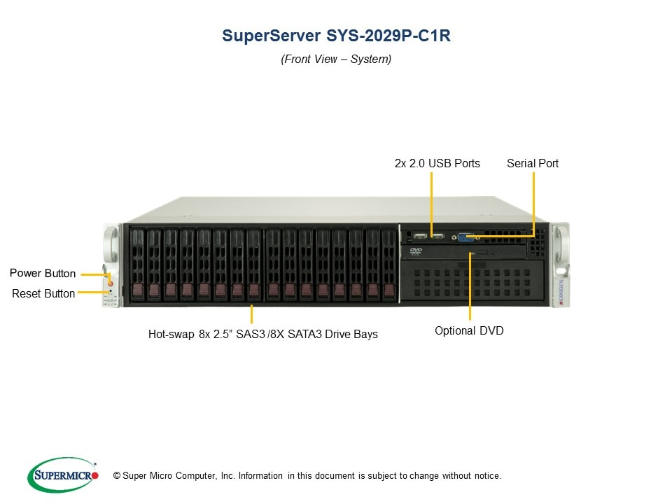 SuperServer-2029P-C1R second image