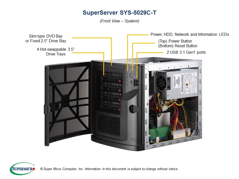 SuperServer-5029C-T main image