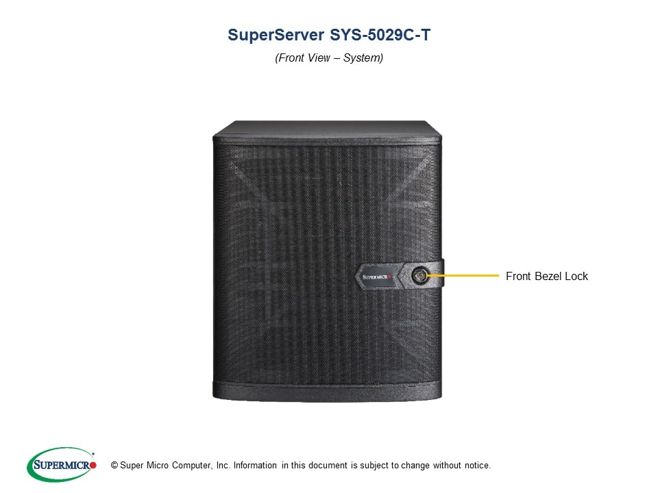 SuperServer-5029C-T second image