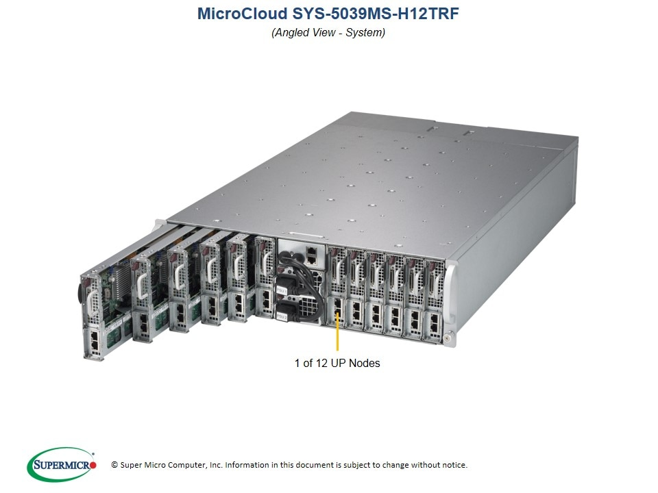 SuperServer-5039MS-H12TRF main image
