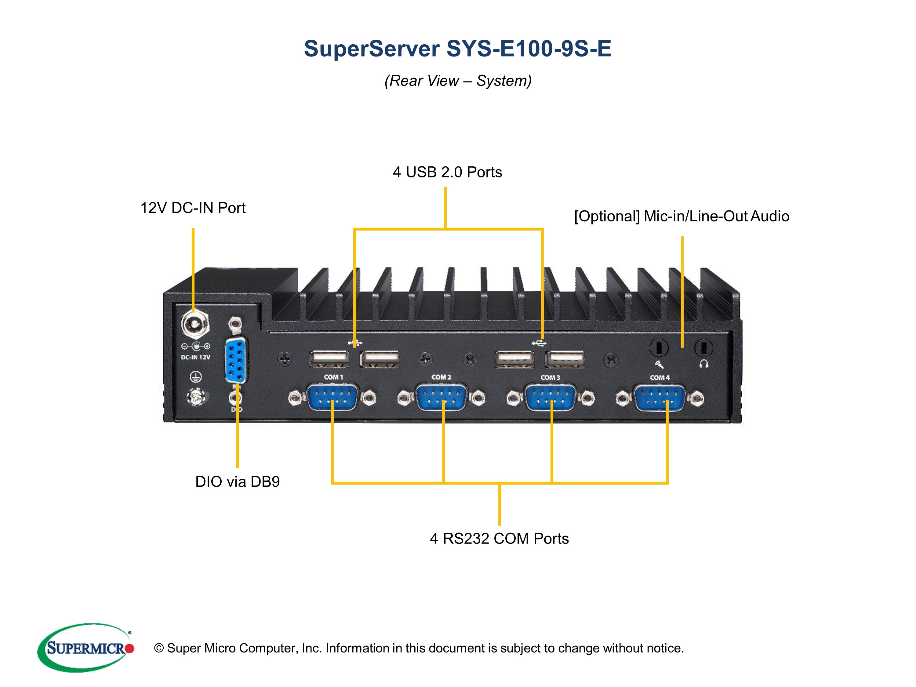 SuperServer-E100-9S-E third image