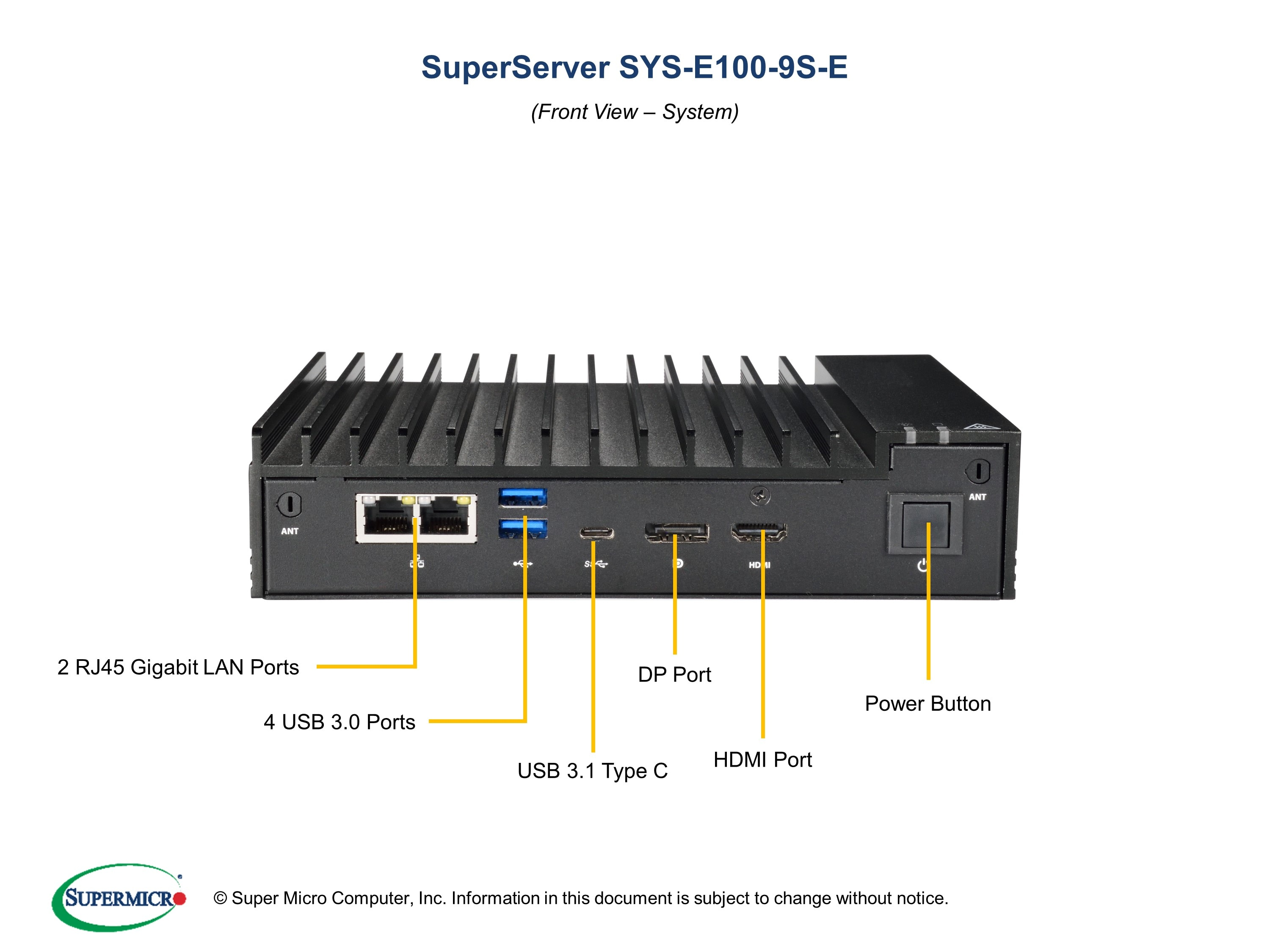 SuperServer-E100-9S-E second image
