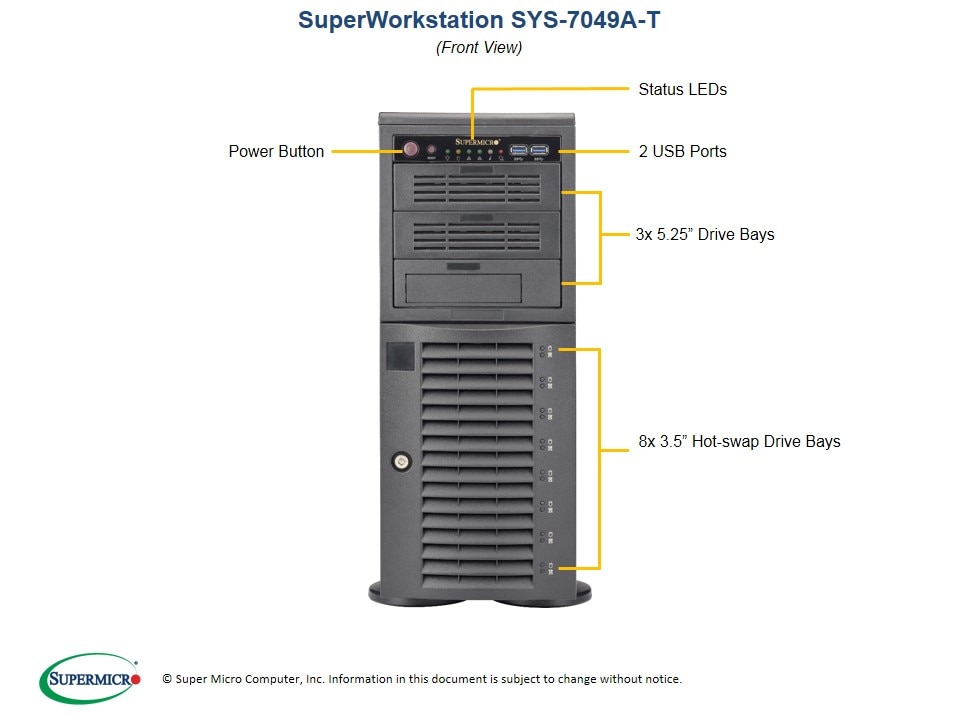 SuperWorkstation-7049A-T second image