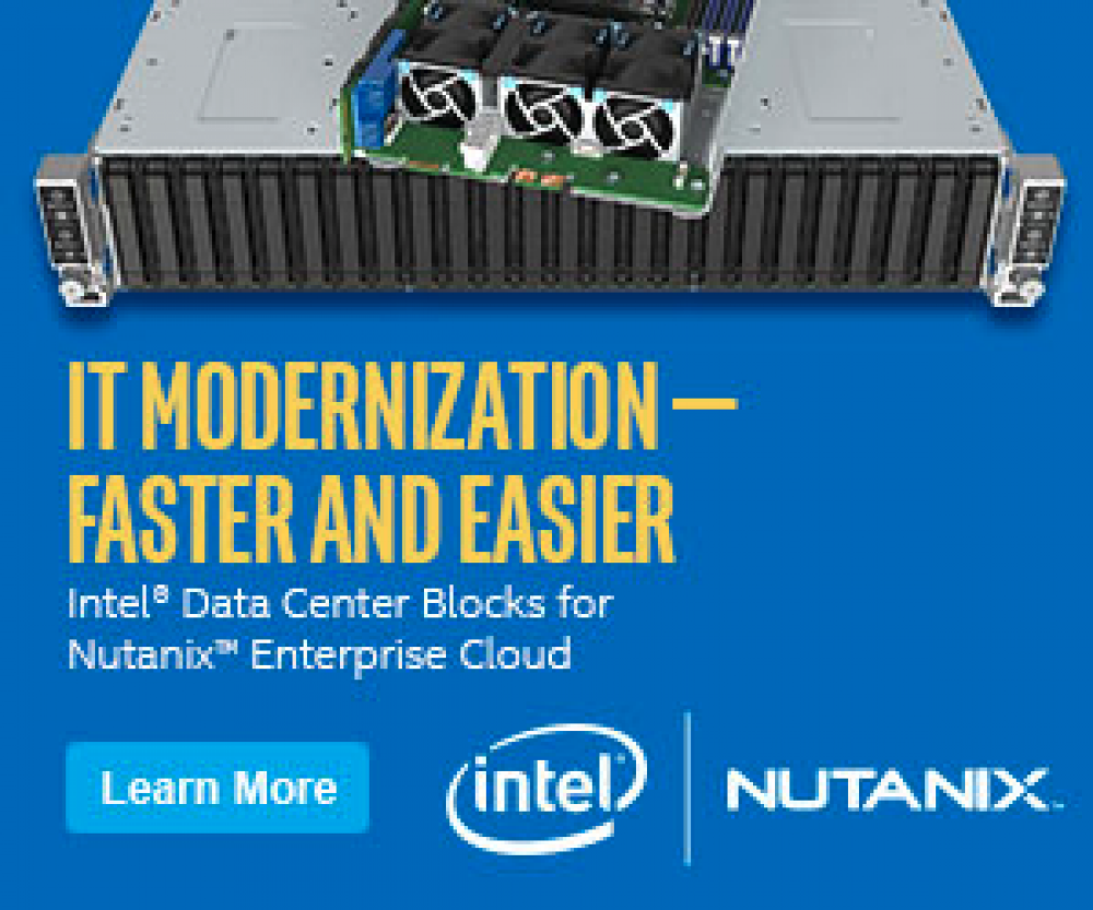 digicor newsletter Intel® Data Center Blocks (Intel® DCB) for Nutanix Enterprise Cloud