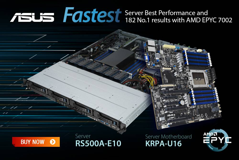digicor newsletter ASUS AMD EPYC Servers, best-in class performance.