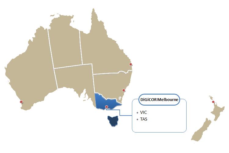 DiGiCOR Melbourne Region