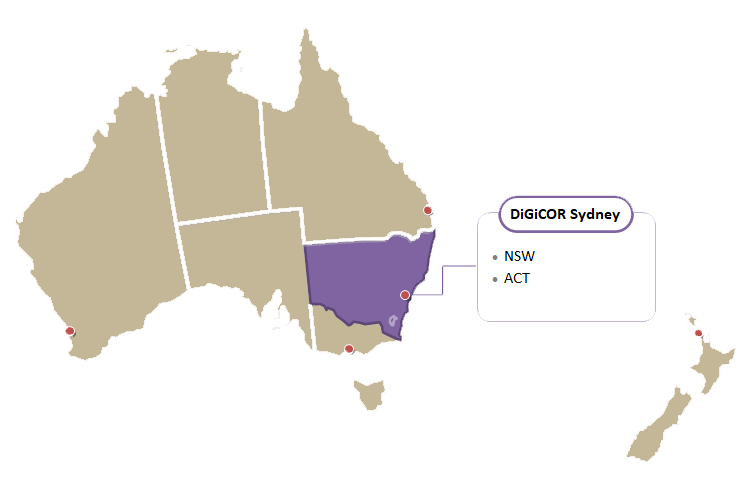 DiGiCOR Sydney Region