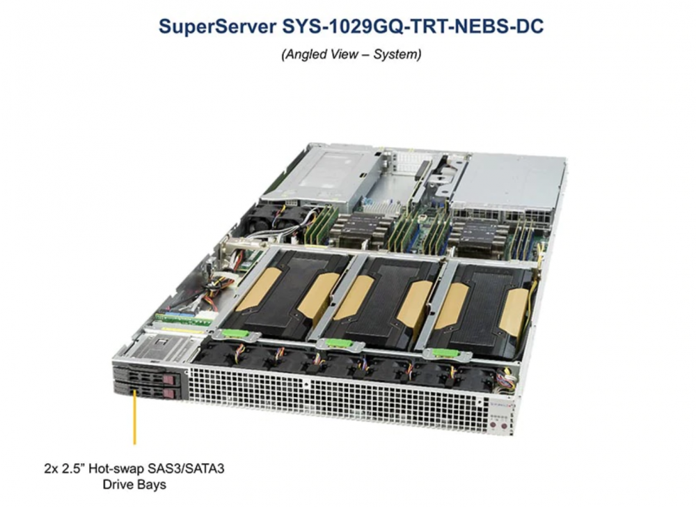 digicor newsletter Supermicro's First to Market NEBS Level 3 Certified 1U Server